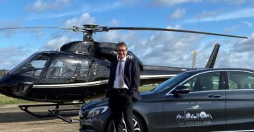 Travel smarter with a helicopter charter!